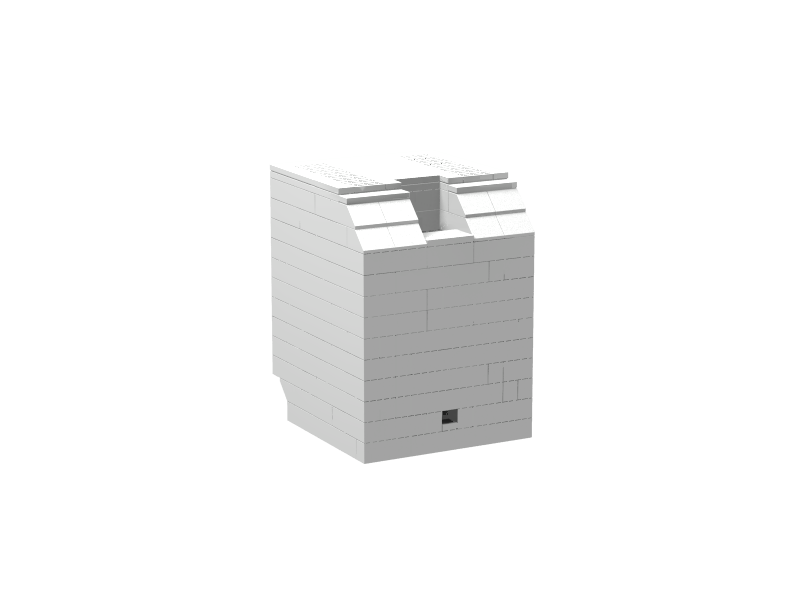Lego Macintosh render: Back